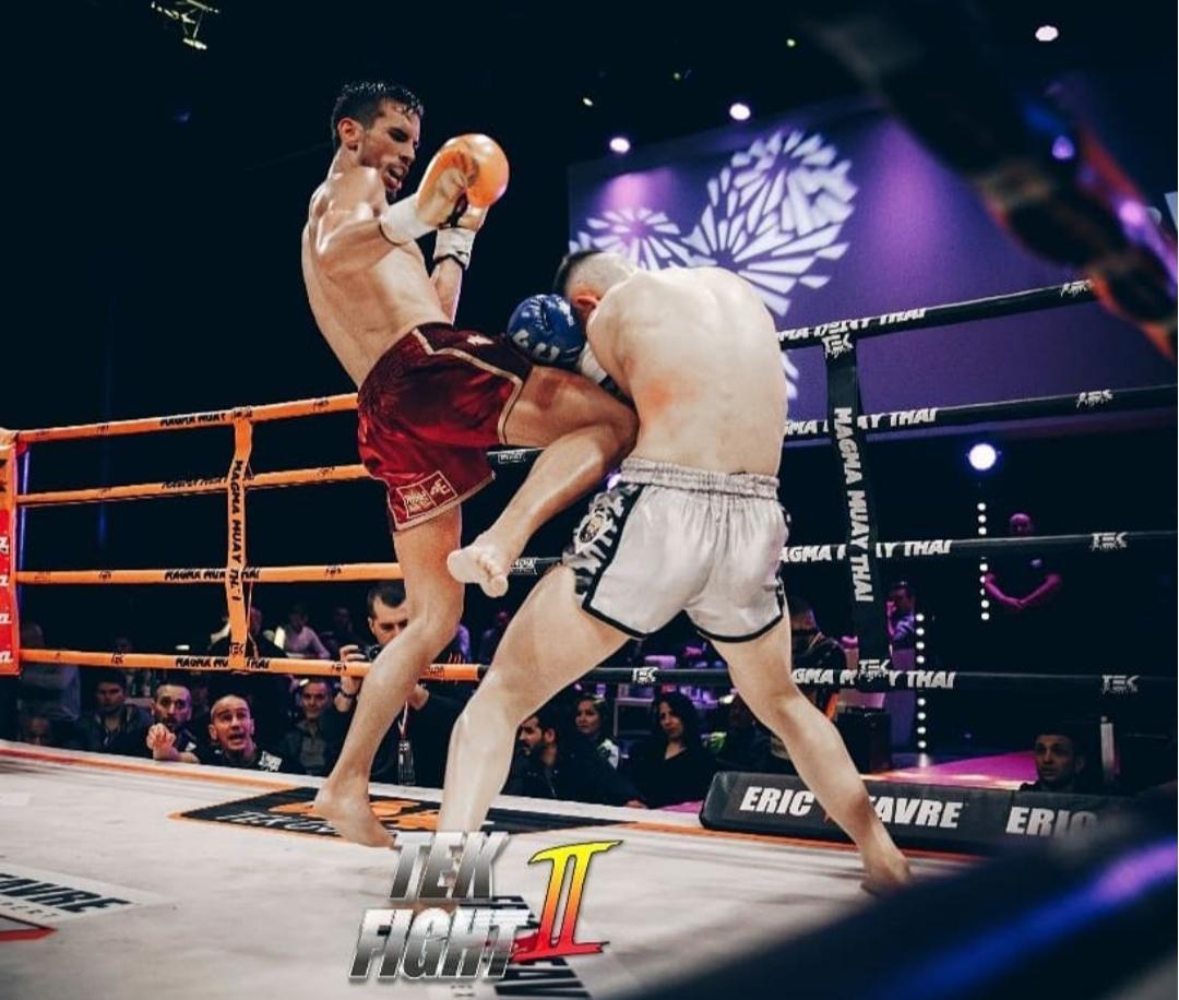 Julien Côme, victoire au Tek Fight II