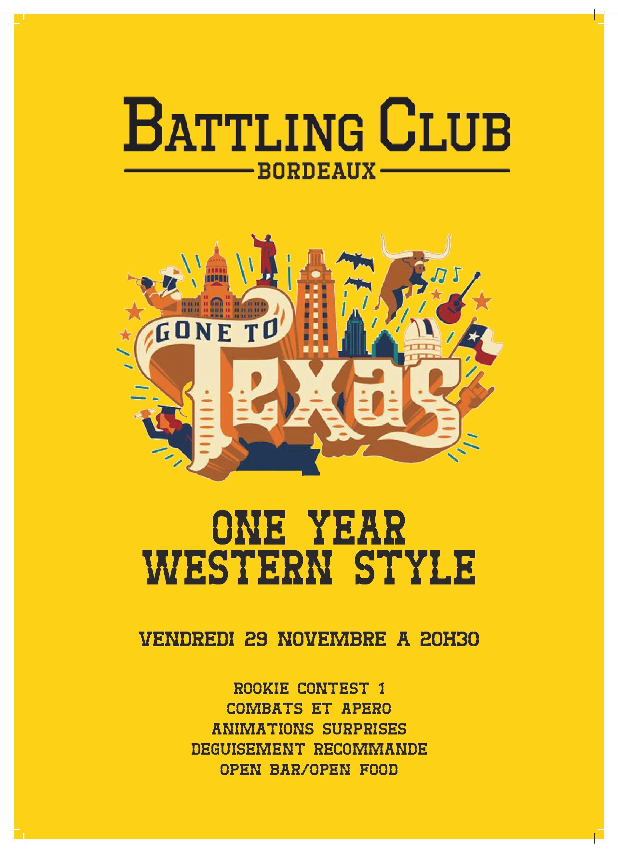 One year western style